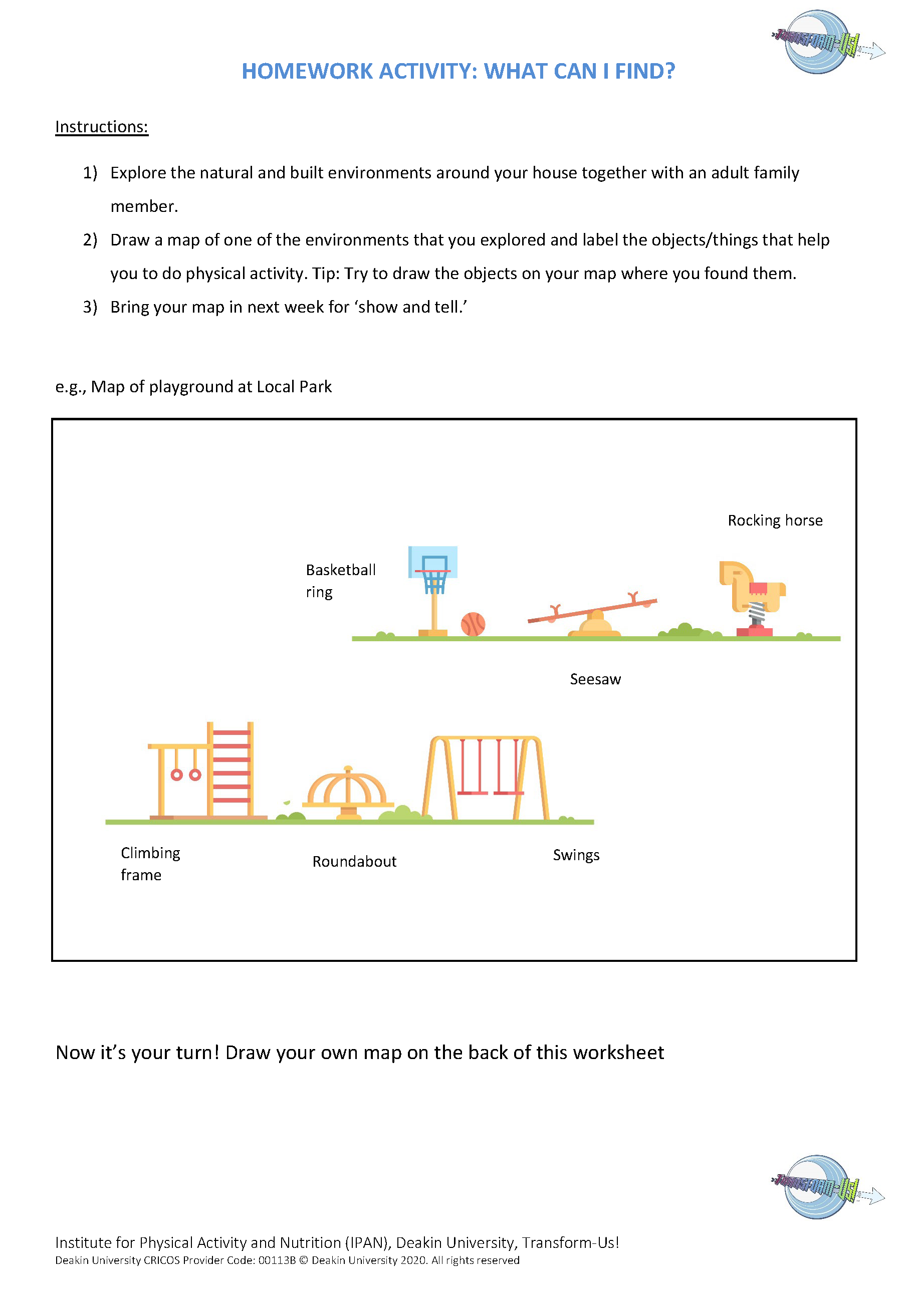 Topic 7 What can I find homework activity_CR